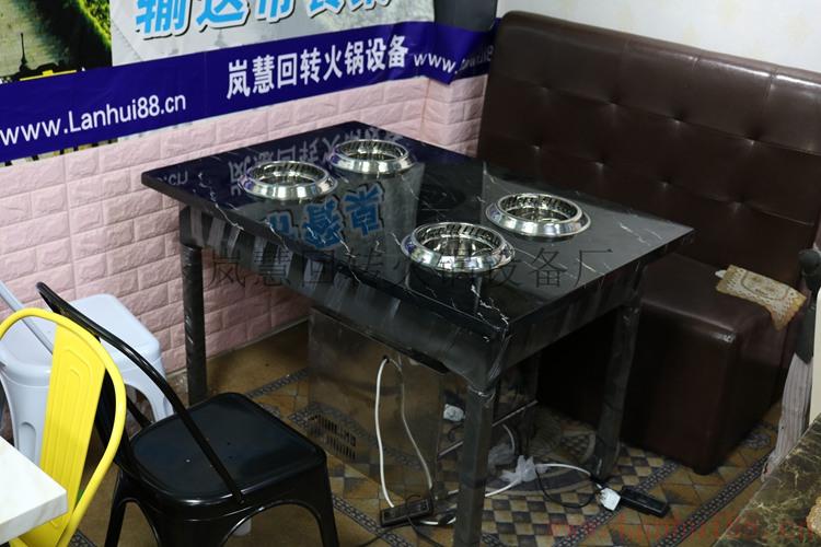 不锈钢五金架火锅一体桌