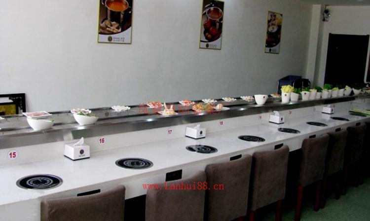自助串串麻辣烫旋转火锅设备
