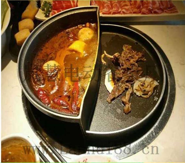 迷你涮烤一体锅样式