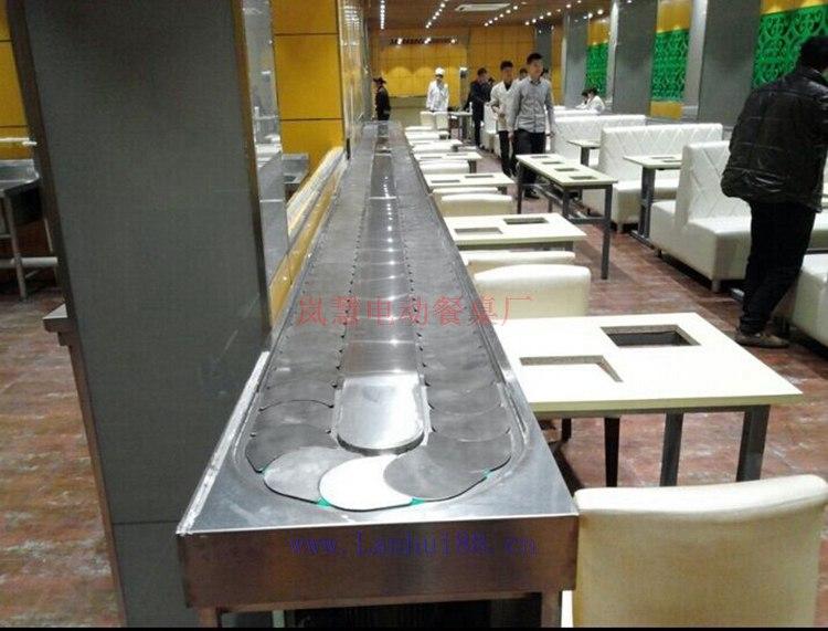 餐饮回转火锅厂家设计旋转设备