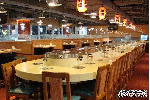 自动旋转寿司设备餐桌价