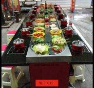 南京节后餐厅投入使用旋转自助小火锅创高峰