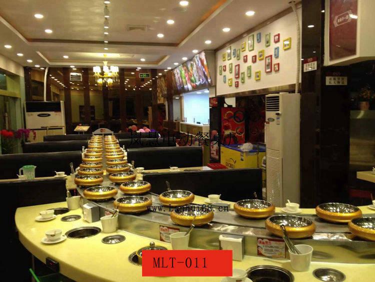 餐饮加盟回转火锅输送设备指定供应商