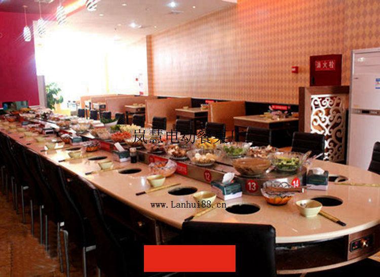 酒店实木电动餐桌订制价格