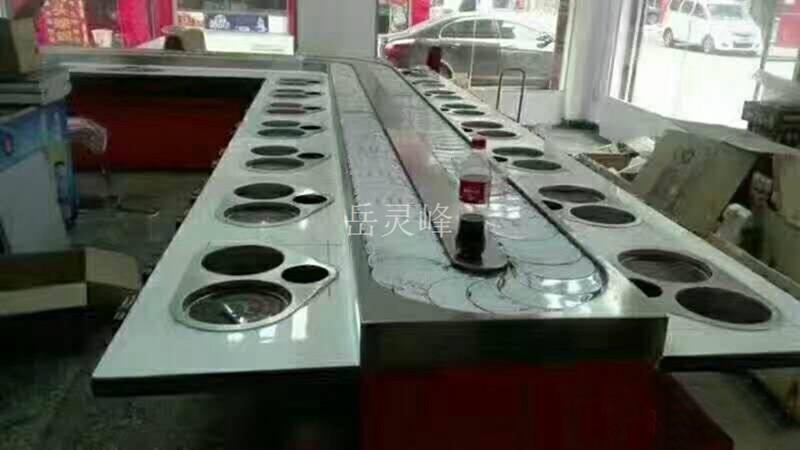 工厂直供的旋转火锅设备单价