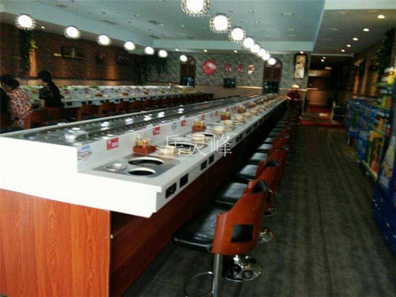 回转寿司设备线电机餐桌