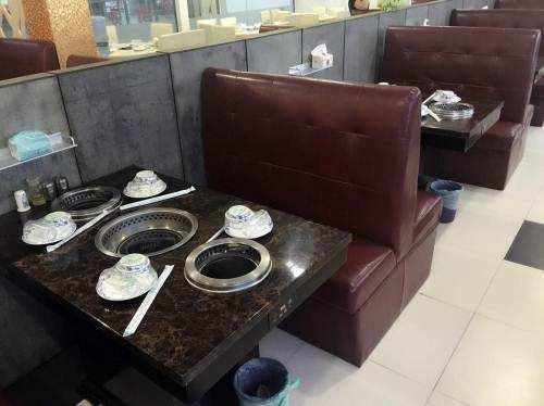 无烟烤涮一体机火锅桌