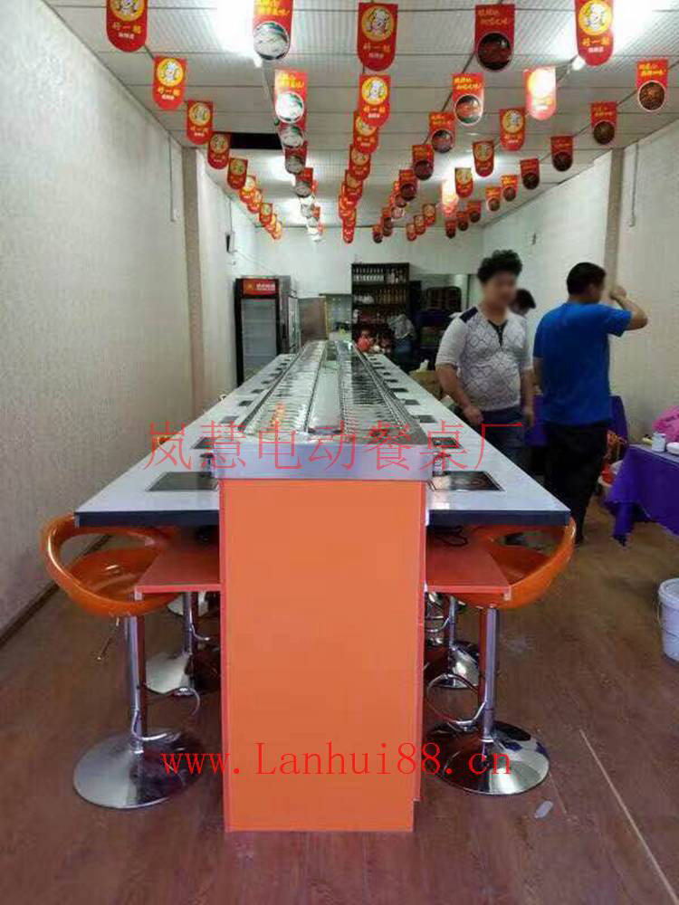 旋转小火锅是火锅特色餐饮文化的传承